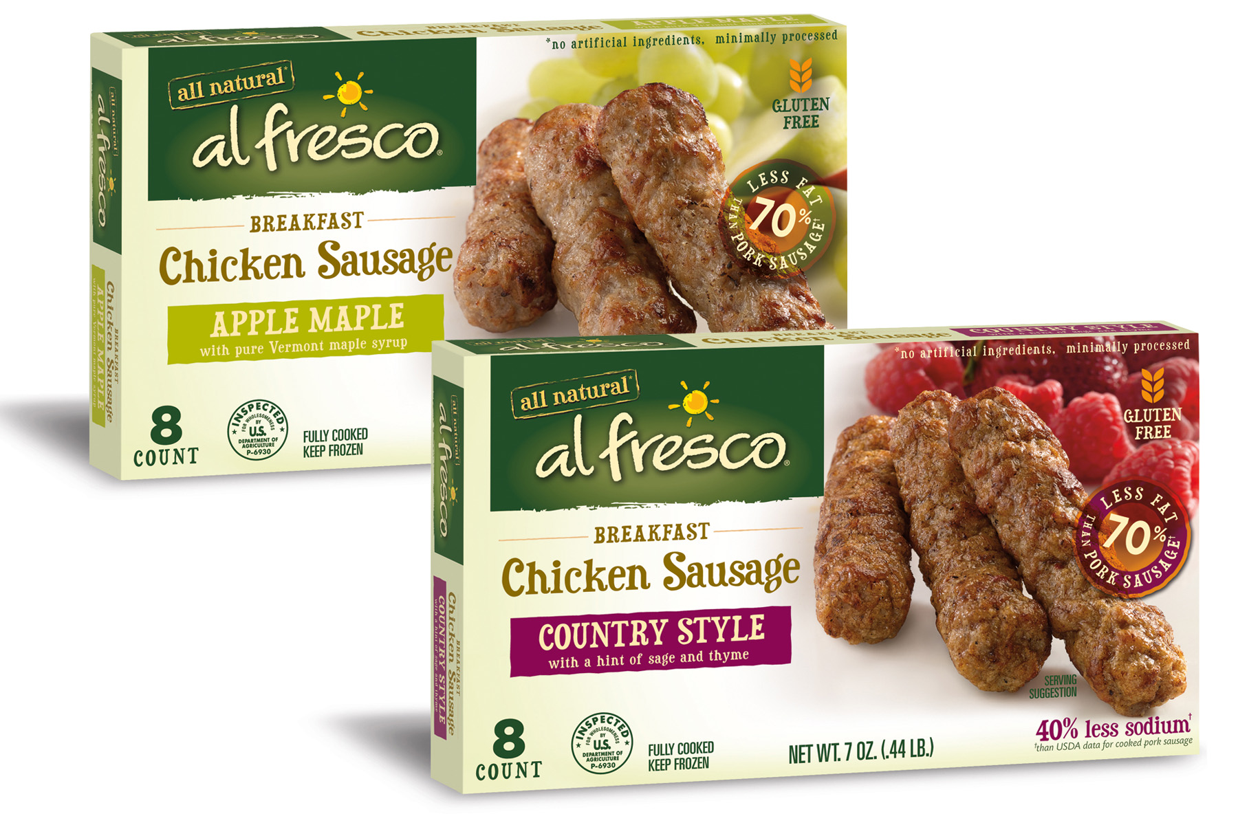 Al Fresco Sausage Packaging