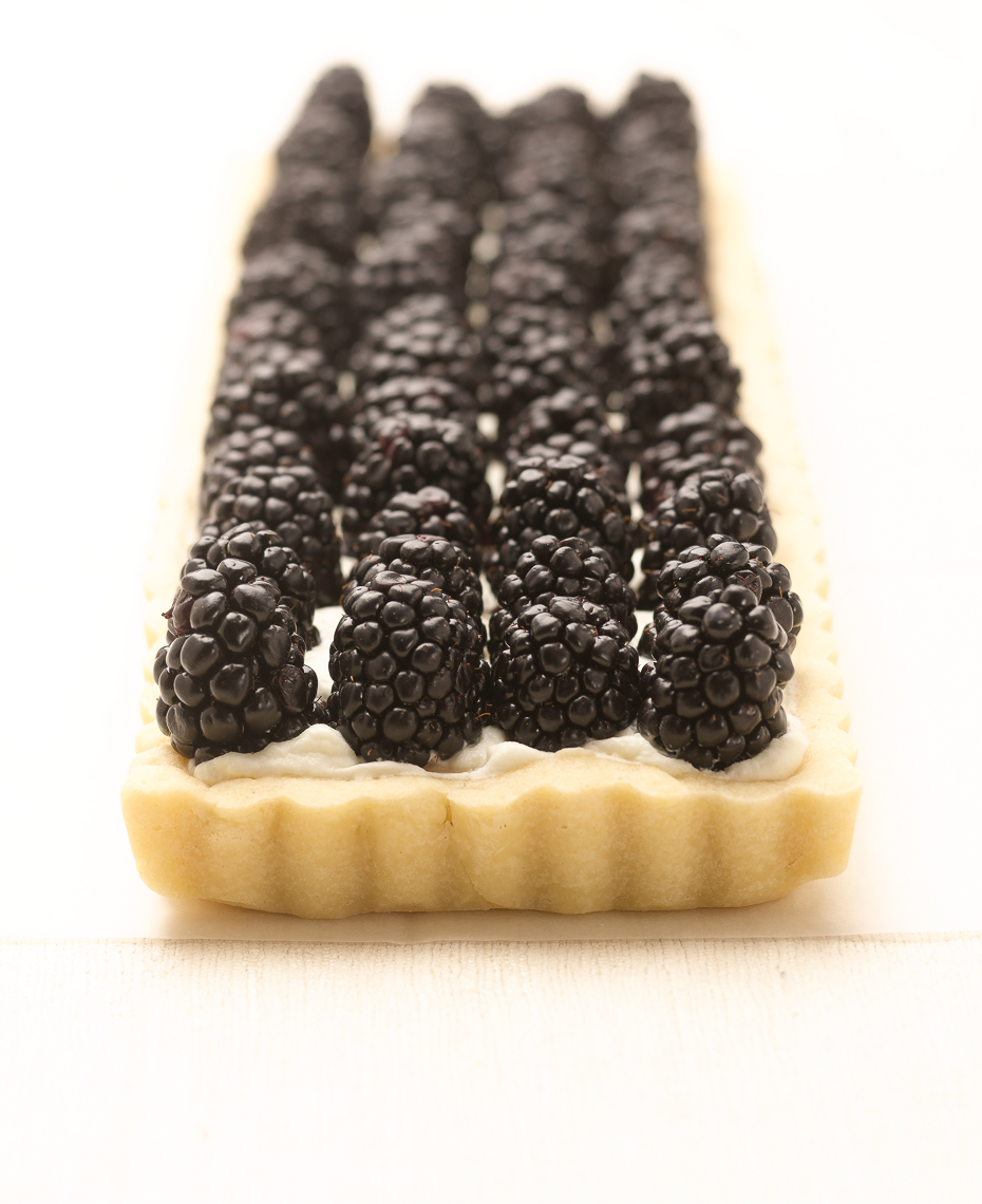 Blackberry Tart Food Photo