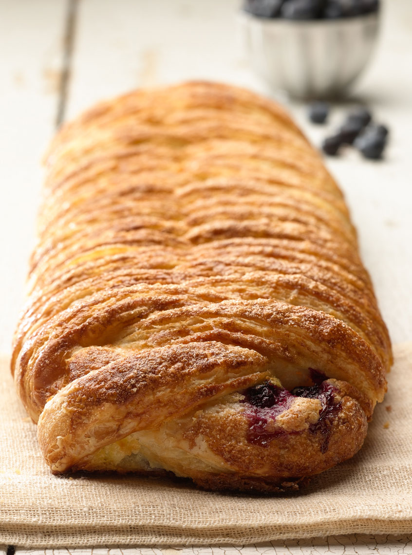 Blueberry Pastry Photo