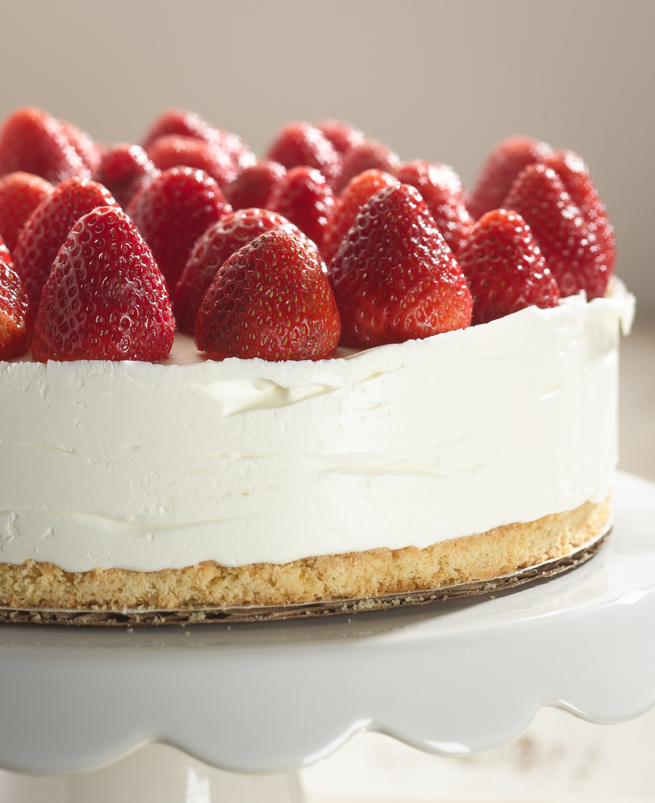 Strawberry Cheesecake Dessert Photo