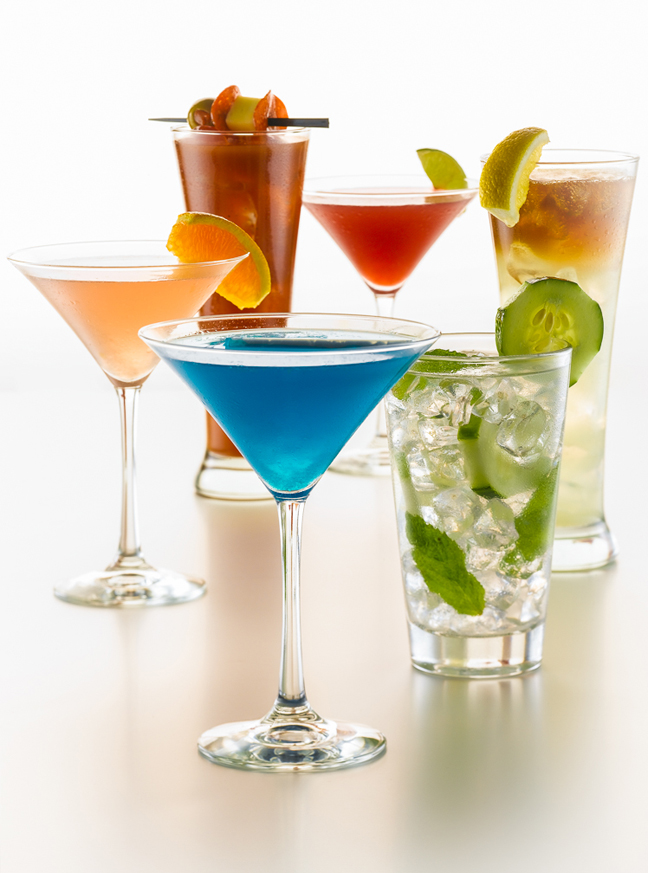 Martinis & Mojitos Beverages