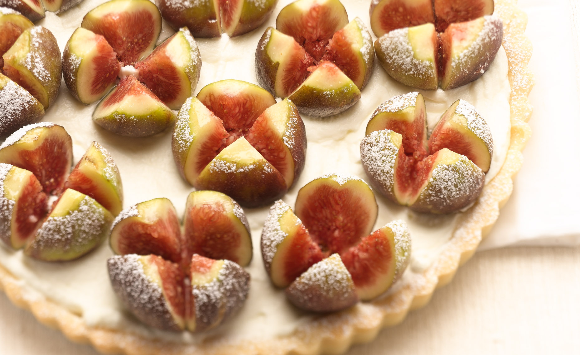 Fig Tart Editorial Dessert