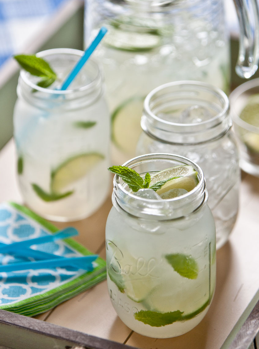 Lemonade Tray Drink Photo