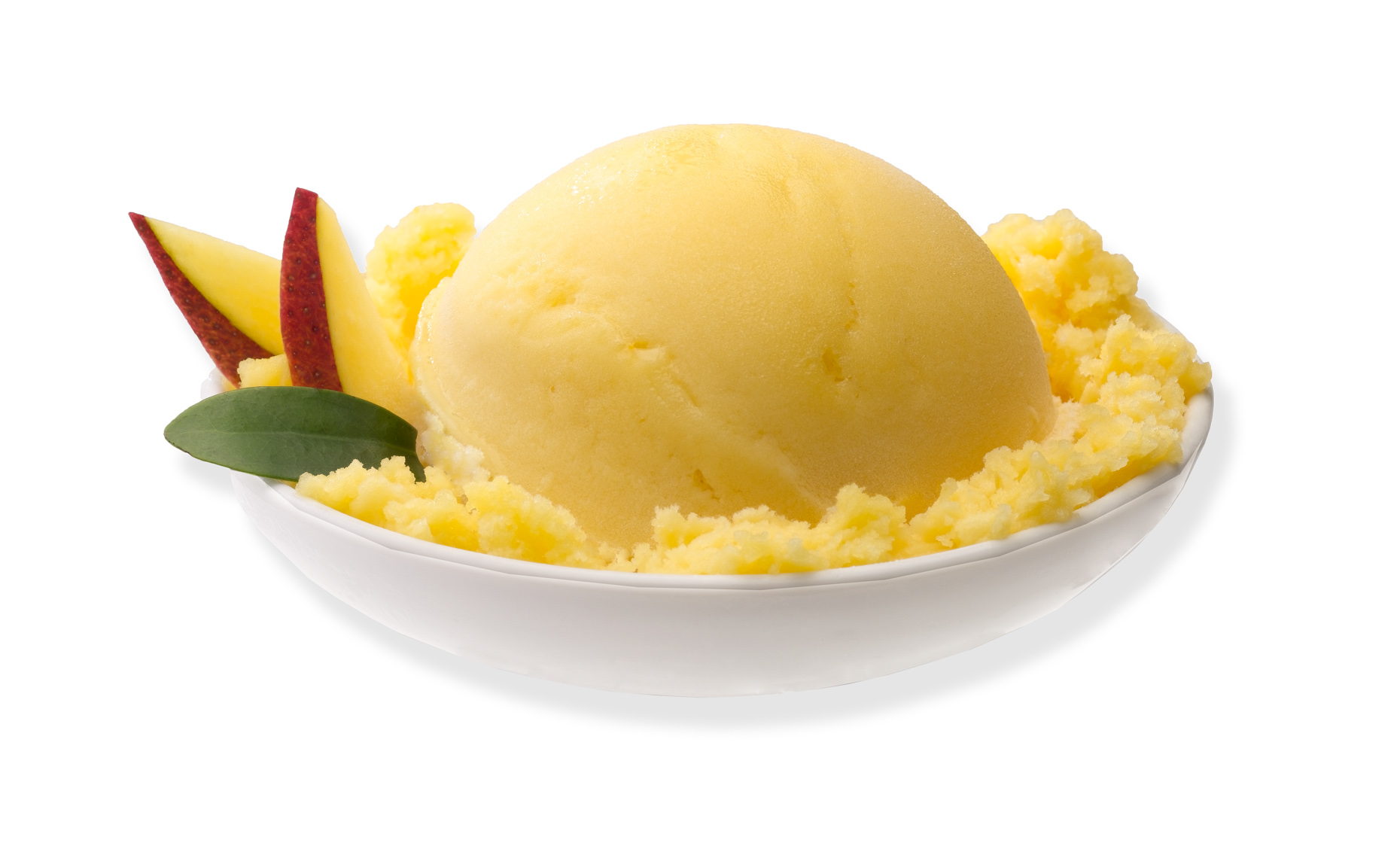Mango Ice Cream Photo