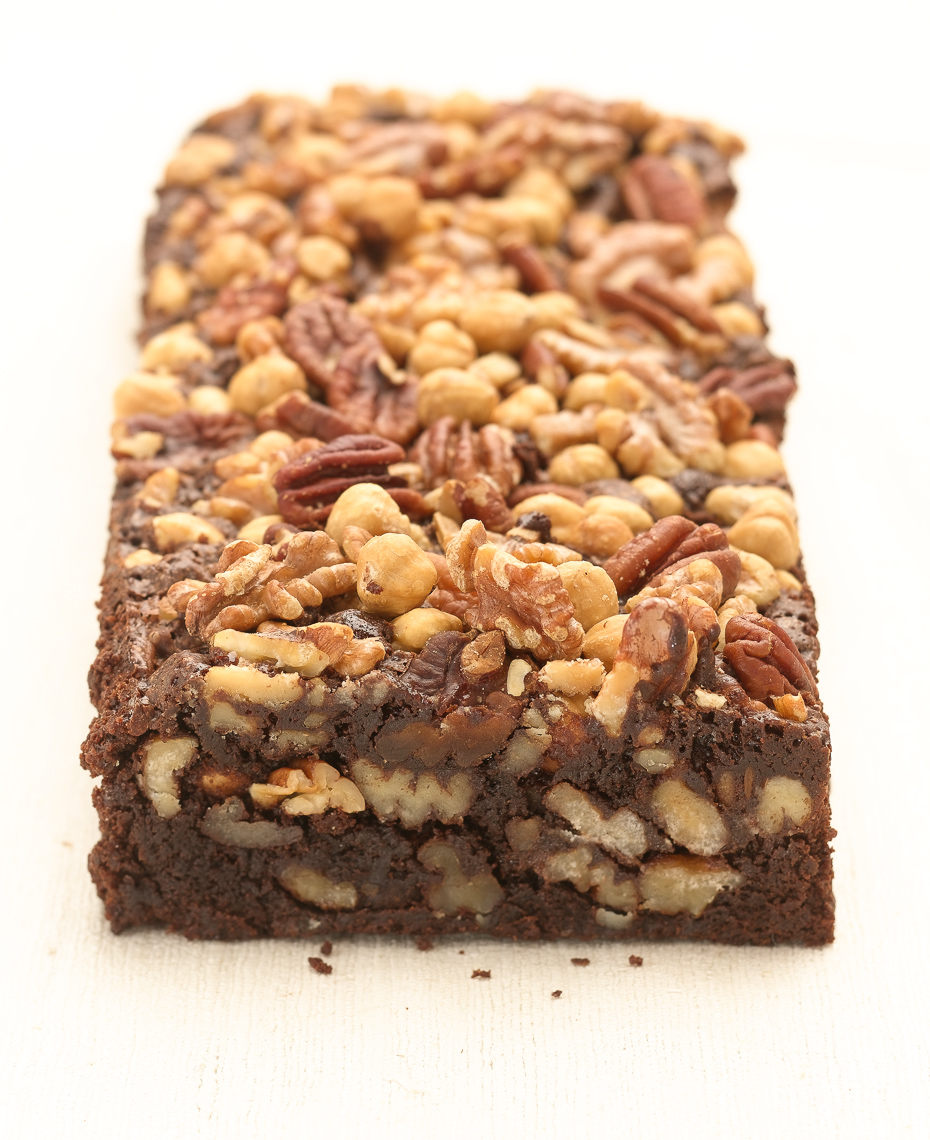 Nut  Brownie Food Photo
