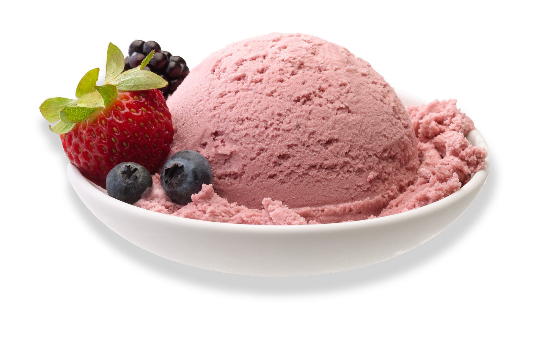 Strawberry Ice Cream  Ad Photo