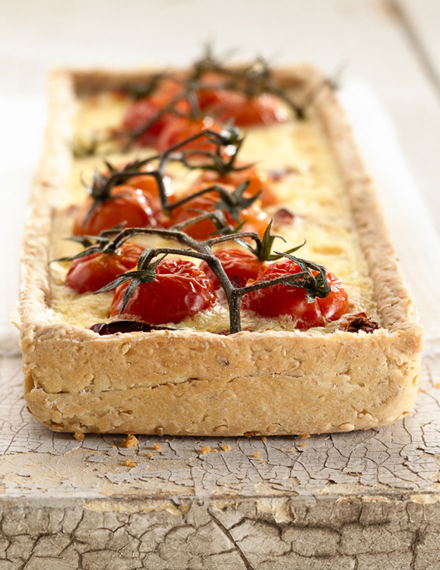 Tomato Tart Recipe Photo
