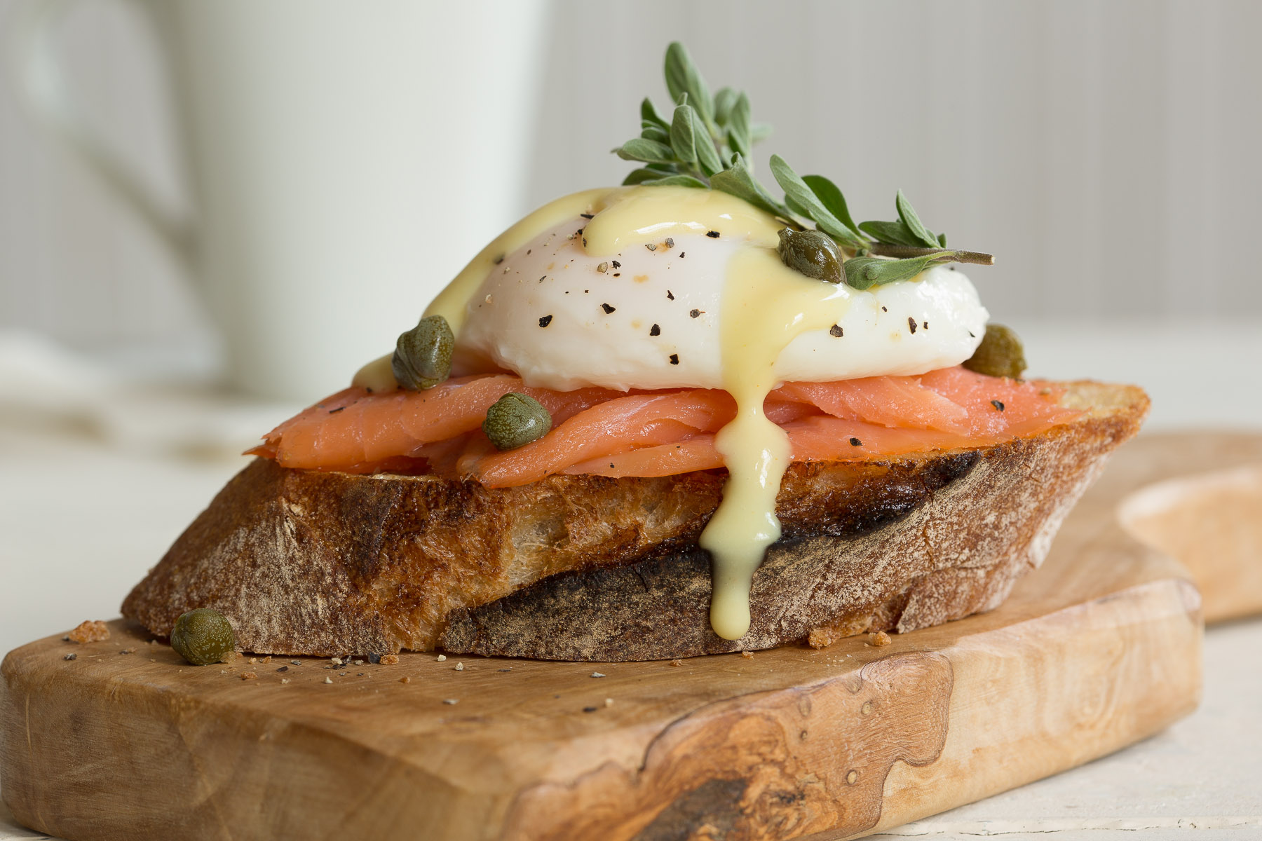 Smoked Salmon Benedict Photo