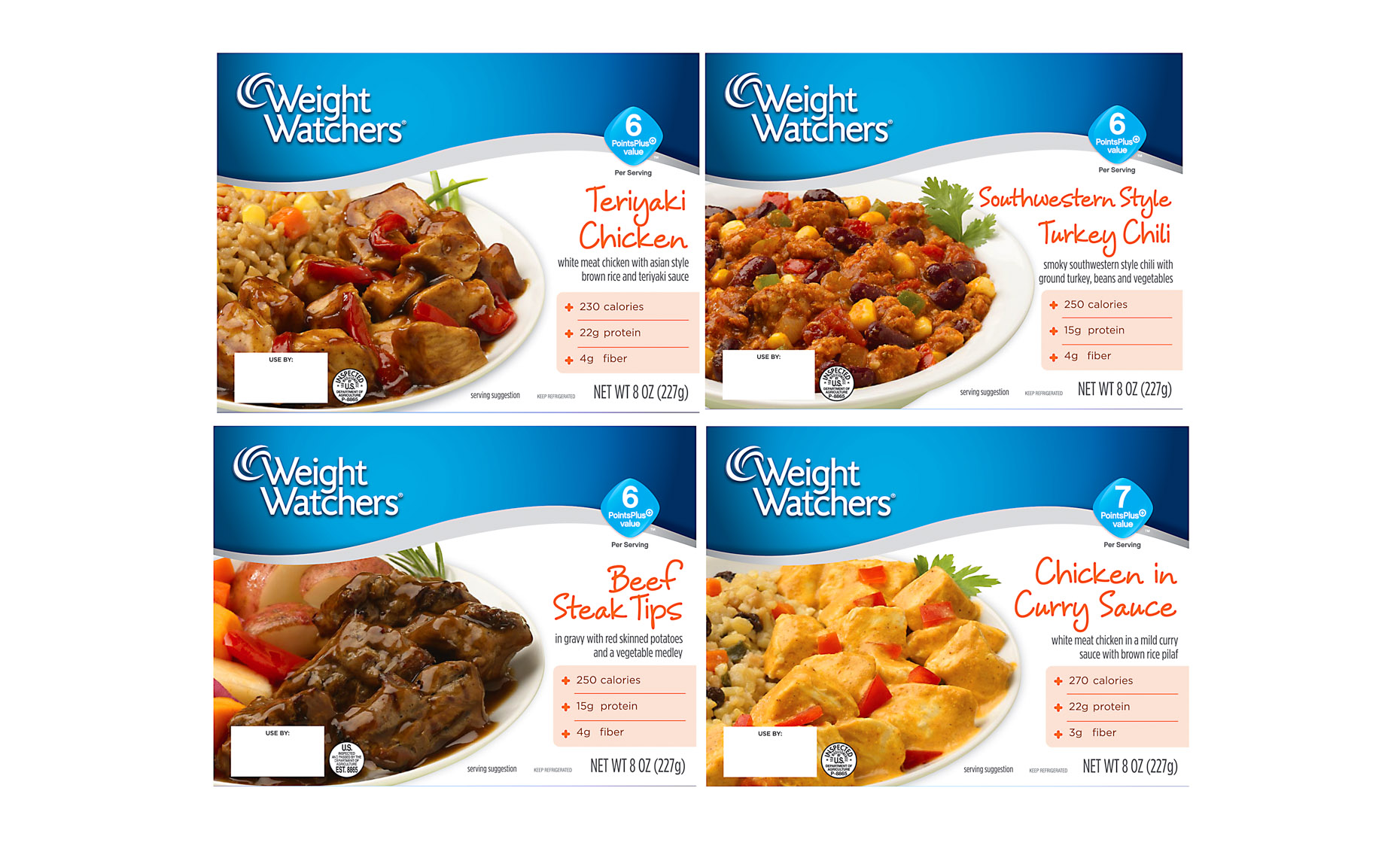 Weight Watchers Packaging Photography
